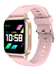 cheap -GT01 Smartwatch for Apple/Android/Samsung Phones, Sports Tracker Support Heart Rate/Blood Pressure/Blood-oxygen Monitor