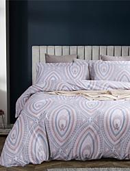 povoljno -ružičaste linije ispisuju 3-komadne prekrivače za posteljinu setove hotelske posteljine udobne presvlake s mekom laganom mikrofiberom (uključuju 1 prekrivač za prekrivač i 2 jastučnice)