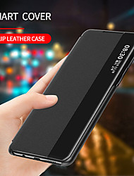 cheap -Smart View Flip Leather Phone Case For Huawei P40 P40 Pro P30 P30 Pro
