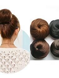 cheap -Human Hair Lace Wig Hair Bun Women / Easy dressing / Lovely Drawstring Synthetic Hair Hair Piece Hair Extension Natural Black #1B / Brown / Medium Auburn#30