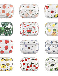 cheap -Case For AirPods Pro Translucent Pattern Headphone Case Hard