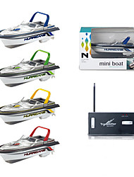 cheap -RC Boat 777-218 Remote Control Boat Plastic Channels KM/H Mini / Creative