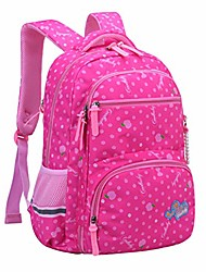 cheap -Large Capacity School Bag Unisex Special Material Pattern / Print Zipper Floral Print School Purple / Blushing Pink / Sky Blue / Royal Blue