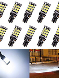 cheap -10pcs Super Bright T15 W16W 921 45 SMD LED 4014 Car Auto Canbus Reverse Light Reversing Lighting Back up Lamp