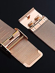 cheap -Stainless Steel Watch Band Black / Gold 20cm / 7.9 Inches 2cm / 0.8 Inches
