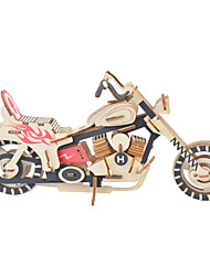 cheap -Moto 3D Puzzle Wooden Puzzle Wooden Model Wood Kid's Adults' Toy Gift