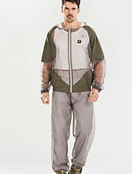 cheap -Mosquito Suit/Bug Jacket Hood & Pants Net Clothing Bug Wear for Fishing Hiking Camping Gardening