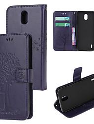 cheap -Phone Case For Nokia 4.2 Nokia 1.3 Nokia 2.3 Nokia 5.3 Pattern Magnetic Full Body Cases leather