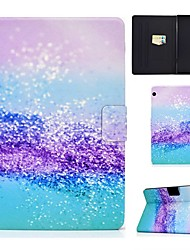 cheap -Case For Huawei Mediapad T5 10 MatePad T8 T3 9.6 Card Holder with Stand Pattern Full Body Cases Scenery PU Leather