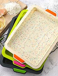cheap -Silicone Baking Tray Non-stick Square Baking Pan Baking Mold 1 Pc