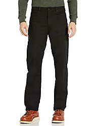 cheap -but& #39;s 5 pocket stretch canvas pant, black, 30/30