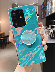 cheap -Case For Samsung Galaxy Note 10 Note 10 Plus A10 M10 A20 A30 A50 A30S A50S A70 A70S with Stand Pattern Back Cover Marble TPU
