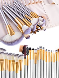 cheap -Professional Makeup Brushes 24pcs Professional Full Coverage Wooden / Bamboo for Makeup Brush Set