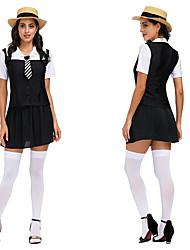 رخيصةأون -مهرجان أكتوبرفست Trachtenkleider نسائي بلايز الالتفاف ربطة عنق البافارية كوستيوم أسود