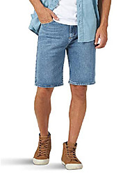 cheap -authentics men& #39;s classic relaxed fit five pocket jean short, light wash flex, 32