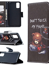 cheap -Phone Case For OPPO Find X2 Lite A5 2020 A9 2020 A72 A52 A92 A31 2020 Card Holder Flip Full Body Cases Animal Tree Flower leather