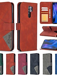 cheap -Phone Case For Xiaomi 10X 4G Mi CC9 Pro Redmi 9A 9C 8A 7 Note 9 Pro Max 9S Note 8T Wallet Card Holder with Stand Full Body Cases leather