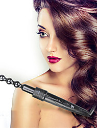 cheap -6 in 1 Curling Iron Wand Set Curling Wand Hair Curler Barrels Hair Wand & Temperature Adjustment Include Glove