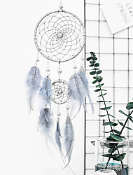 cheap -Innovative Dream Catcher Pendant Hand-Woven Ornaments Handmade Birthday Gift Dreamcatcher Home Room Decoration