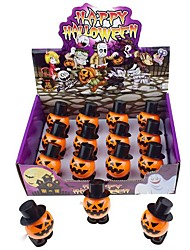 cheap -Halloween Party Toys Wind-up Toy Trick or Treat 12 pcs Pumpkin Party Favors ABS Kid's Adults Trick or Treat Halloween Party Favors Supplies