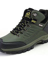 cheap -Men's Trainers Athletic Shoes Daily Outdoor Walking Shoes PU Non-slipping Light Brown Black Army Green Fall Spring