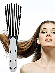 cheap -hair comb, massage comb, curly hair comb, straight hair comb(black)