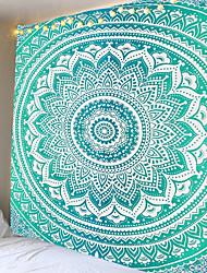 cheap -Big Mandala Indian Tapestry Wall Mount Bohemian Beach Towel Thin Polyester Blanket Yoga Shawl Blanket