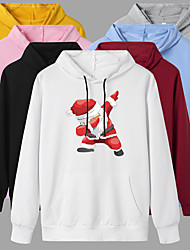 cheap -Women's Hoodie Pullover Artistic Style Hoodie Cartoon Sport Athleisure Hoodie Top Long Sleeve Warm Soft Oversized Comfortable Everyday Use Exercising General Use / Winter