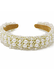 cheap -Fashion Crystal / Imitation Pearl Headbands with Crystal / Imitation Pearl 1 Piece Wedding / Daily Wear Headpiece