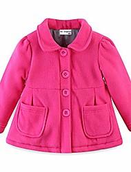cheap -little girls coats winter fleece size 5 hot pink