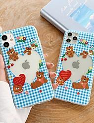 billige -etui til apple iphone 11 stødsikker / støvtæt bagcover tegneserie tpu til case iphone 11 pro / 11 pro max / 7/8 / 7p / 8p / se 2020 / x / xs / xs max / xr