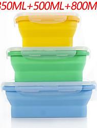 cheap -High Quality with Plastics Lunch Box Rice Kitchen Storage 1 pcs