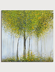 cheap -Hand-Painted Abstract Landscape Paintings Canvas Art  Painting Abstract Acrylic Painting Modern Art Textured Art  with Stretcher Ready to Hang With Stretched Frame