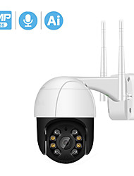 cheap -BESDER 2MP/3MP/5MP PTZ Wifi IP Camera 4X Digital Zoom ONVIF P2P 1080P Security CCTV Camera Audio AI Human Detect Outdoor H.265 Wireless Camera