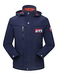 billige -Herre Jakke Normal Ensfarvet Daglig Basale Blå / Army Grøn / Kakifarvet US36 / UK36 / EU44 / US38 / UK38 / EU46 / US40 / UK40 / EU48