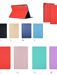 cheap -Case For Huawei Huawei Mediapad M5 Lite 10 Shockproof Flip Full Body Cases  PU Leather TPU Solid Colored