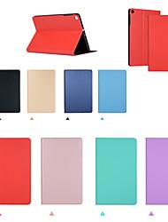 cheap -Case For Apple iPad Pro 11'' / Ipad Pro 11''2020 Flip / Auto Sleep / Wake Up Full Body Cases Solid Colored PU Leather / TPU