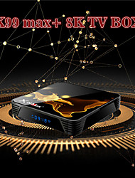 cheap -X99MAX 4GB 32GB S905X3 TV Box 8k HD Quad Core HDMI 2.1 Media Player Android 9.0 Wifi 4.1 Bluetooth Set Top Box