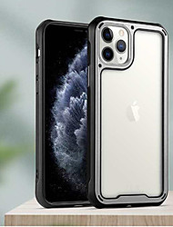 cheap -Case For Apple iPhone 6 6s 7 8 6plus 6splus 7plus 8plus X XR XS XSMax SE(2020) iPhone 11 11Pro 11ProMax  Shockproof  Transparent Back Cover Transparent  Solid Colored TPU Acrylic PC