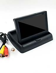 cheap -4.3 inch Foldable Car Monitor TFT Display Cameras Reverse Camera Parking System for Car Rearview Monitors