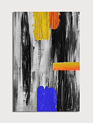 cheap -Oil Painting Paint Handmade Colors Abstract Canvas Art Modern Art with Stretcher Ready to Hang With Stretched Frame