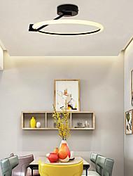cheap -LED® 40 cm Geometric Shapes Flush Mount Lights Aluminum Painted Finishes LED Modern 110-120V 220-240V
