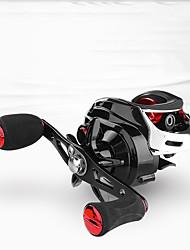cheap -Fishing Reel Baitcasting Reel 7.2:1 Gear Ratio+18 Ball Bearings Right-handed / Left-handed Freshwater Fishing / Carbon Fiber