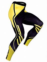 Недорогие -мужские компрессионные сухие крутые спортивные колготки брюки базовые леггинсы для бега спортивные колготки для йоги брюки& # 40; желтый, xl& # 41;