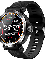 cheap -S18 Smartwatch for Android/ IOS/ Samsung Phones, Water Resistant Sports Tracker Support Heart Rate Monitor