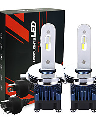 cheap -Car LED headlights with LED chips 25W 2600LM H4  LED headlight bulbs 6000K