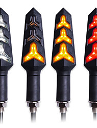 cheap -4PCS LED Turn Signal Light Motorcycle Turn Signals Built Relay Blinker Motorcycle Turn Signal Lamp Stop Signal Brake Lighting