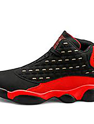 cheap -Men's Trainers Athletic Shoes Outdoor Basketball Shoes PU Black / Red Black Orange Summer
