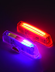 cheap -Bike Light Tail Light Bicycle Cycling Portable New Design Durable USB / USB RGB Red Everyday Use Cycling / Bike