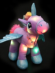 cheap -Stuffed Animal Plush Toy Unicorn Lighting Glow in the Dark Plush Imaginative Play, Stocking, Great Birthday Gifts Party Favor Supplies Boys and Girls Kid's